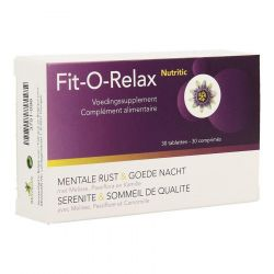 Nutritic Fit-O-Relax Tabletten 30 stuks