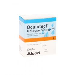 Oculotect unidose 50mg/ml Flapulles 20 pièces