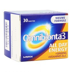 Omnibionta 3 All Day Energy Tabletten 30 stuks