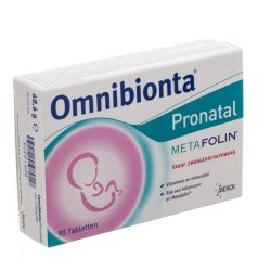Omnibionta Pronatal Metafolin Tabletten 90 stuks