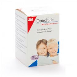 Opticlude maxi adultes 8,2cmx5,7cm  50 pièces