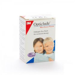 Opticlude mini junior 6,3cmx4,8cm     20 pièces