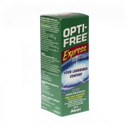 Optifree Express lenzenvloeistof all-in-one 355ml