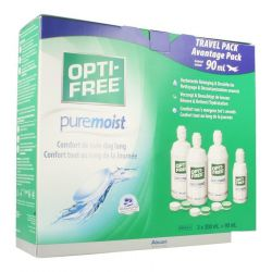 Optifree Pure Moist Advantage Pack 3x300+1x90ml