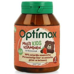 Optimax Kinder Multi Kids vitaminen Kauwtabletten 90 stuks