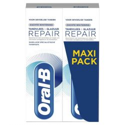 Oral-B Repair Tandvlees & Tandglazuur Whitening duo Tandpasta 2x75ml