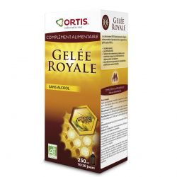 Ortis gelée royale sans alcool Solution 250ml
