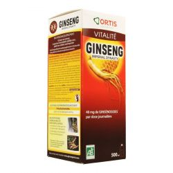 Ortis ginseng impérial  Solution orale 500ml