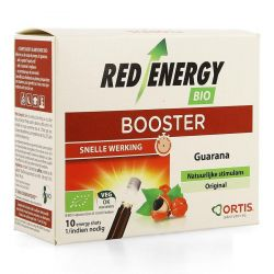 Ortis Red Energy Booster Original Drinkbare oplossing 10x15ml