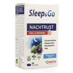 Ortis Sleep & Go NF Tabletten 36 stuks
