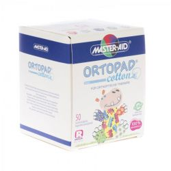 Ortopad cotton boys regular 50 pièces