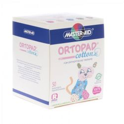 Ortopad cotton girls regular 50 pièces