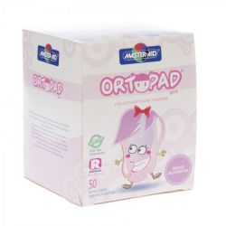 Ortopad girls regular 50 pièces