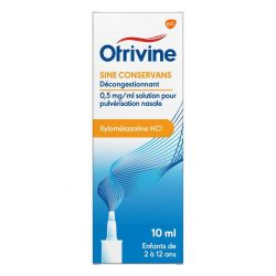 Otrivine anti-rhinitis spray enfants Spray nasal 10ml