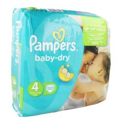 Pampers baby-dry maxi 7-18 KG 30 pièces