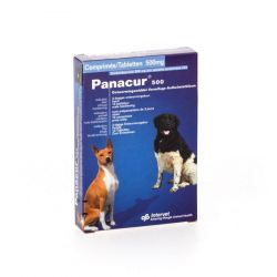Panacur 500mg Tabletten 10stuks