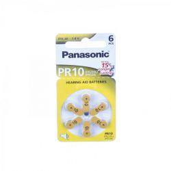 Panasonic PR10 batterijen hoorapparaat Batterij 6 stuks