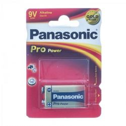 Panasonic pro power pile 9V Batterie 1 pièces