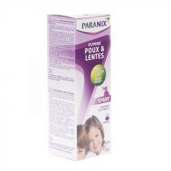 Paranix spray+peigne anti-poux Spray 100ml