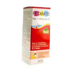 Pediakid Fer + vitamine B Solution orale 125ml