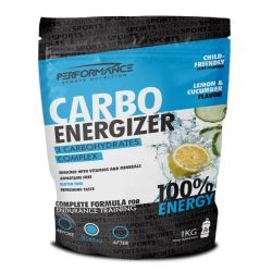 Performance Carbo Energizer citron/concombre Poudre 1000g