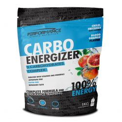 Performance Carbo Energizer orange sanguine Poudre 1000g