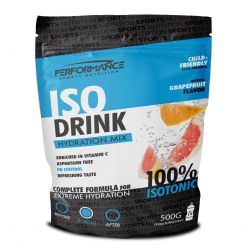 Performance Isodrink grapefruit Poeder 500g