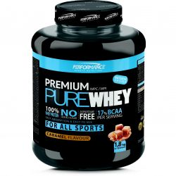 Performance Premium Pure Whey caramel Poudre 1800g