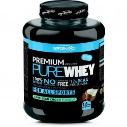 Performance Premium Pure Whey carribean chocolate Poeder 1800g