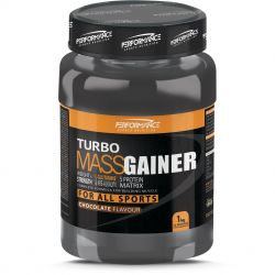 Performance Turbo Mass gainer NB chocolade Poeder 1000g