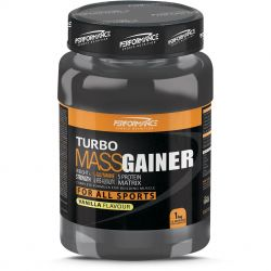 Performance Turbo Mass gainer NB vanille Poeder 1000g