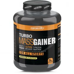 Performance Turbo Mass gainer NB vanille Poeder 3000g