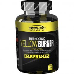 Performance Yellow burner Capsules 120 stuks