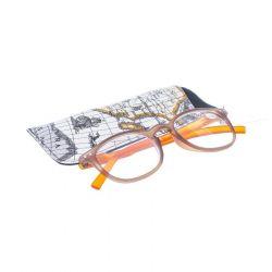 Pharmaglas lunettes de lecture rondes brun orange +3,50 1 pièces