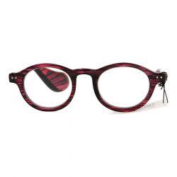 Pharmaglas Milano Paars zwarte leesbril +4.00 1 stuks