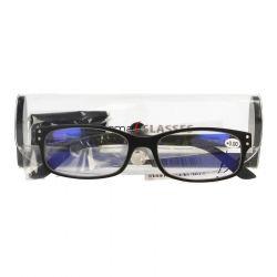 Pharmaglas Visionblue PC01 zwart +0,00 1 stuks