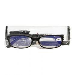 Pharmaglas Visionblue PC01 zwart +2,50 1 stuks
