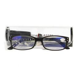 Pharmaglas Visionblue PC01 zwart +3,00 1 stuks