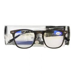 Pharmaglas Visionblue PC02 bruin +0,00 1 stuks
