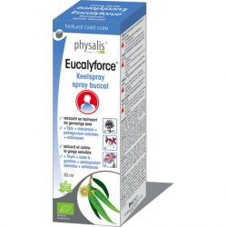 Physalis Eucalyforce spray buccal Spray pour la gorge 30ml
