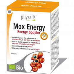 Physalis Max Energy Tabletten 30 stuks