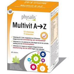 Physalis Multivit A>Z Tabletten 45 stuks