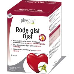 Physalis Red Yeast Rice Forte Capsules 60 stuks