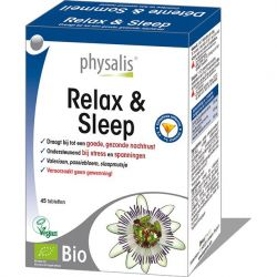 Physalis Relax & Sleep Tabletten 45 stuks