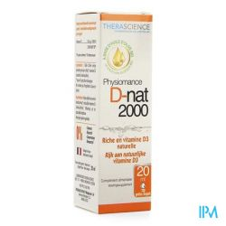 Physiomance D-Nat 2000 Gouttes 20ml