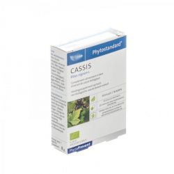 Phytostandard cassis Capsules 20 pièces