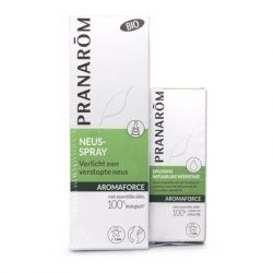 Pranarom Aromaforce Duo neusspray 15ml+mini lotion 5ml  Neusspray 1 stuks