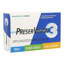 PreserVision 3 NF Capsules 60 pièces