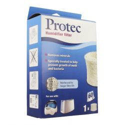 Protec luchtbevochtiger filter 1 stuks