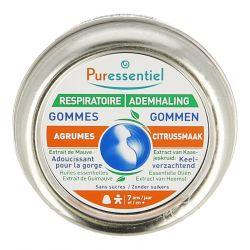 Puressentiel Ademhaling citrus Gommen 45g